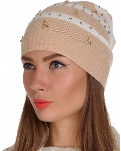 Кашемировая шапка - бежевая Patrizia Pepe