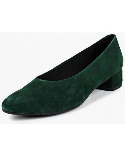 Туфли на каблуке осенние замшевые Vagabond