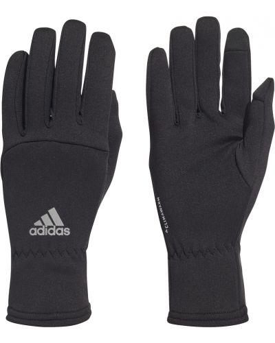 Czarne rękawiczki Adidas