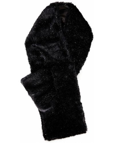 Акриловый шарф - черный Eugenia Kim
