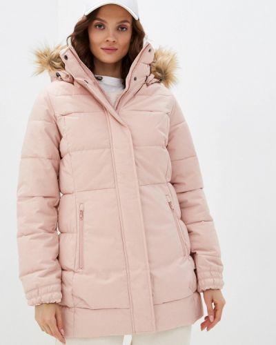 Теплая розовая утепленная куртка Helly Hansen