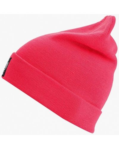 Розовая шапка осенняя The North Face