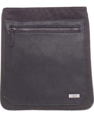 Кожаная сумка текстильная на молнии Liu Jo