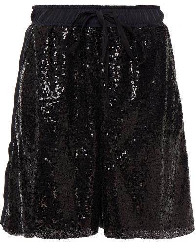 Шорты с карманами - черные Clu