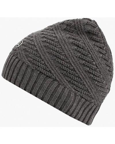 Серая шапка осенняя Luhta