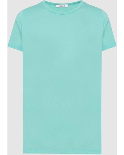 Бирюзовая футболка Allude