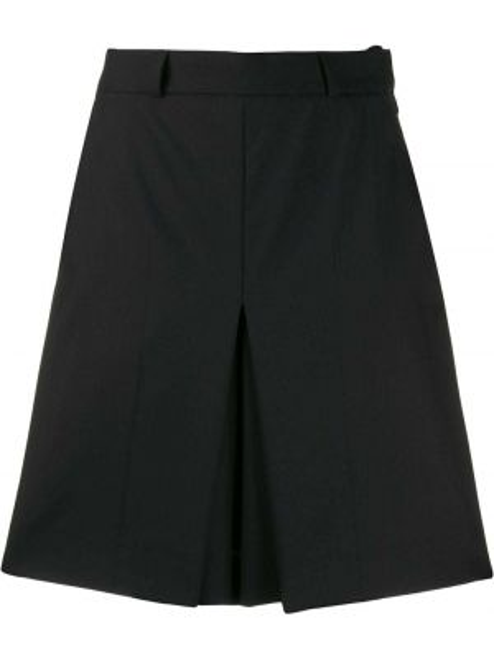 Шорты с карманами - черные Ami Paris