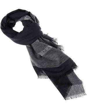 Szary szalik bawełniany Guess