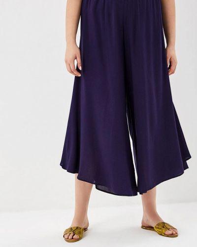 Свободные брюки расклешенные весенний Kr