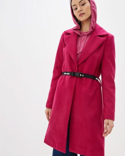 Пальто демисезонное розовое Miss Miss By Valentina