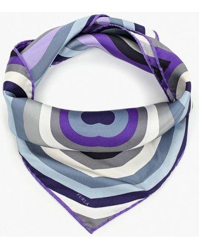 Фиолетовый платок итальянский Furla