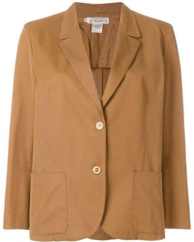 Пиджак с заплатками винтажный Gucci Vintage