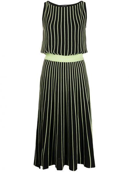 Платье миди в полоску вязаное Be Blumarine