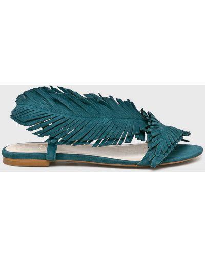 Кожаные сандалии - бирюзовые Baldowski