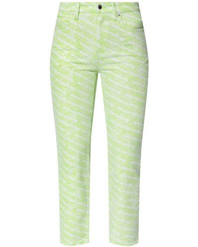 Mom jeans - zielone Alexander Wang
