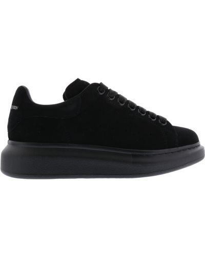 Czarne sneakersy skorzane oversize Alexander Mcqueen