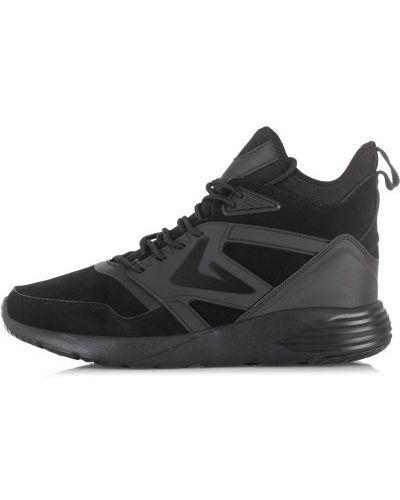 Черные высокие кроссовки Demix