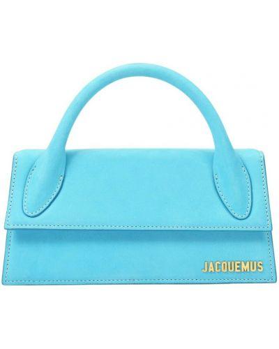 Niebieska torebka skórzana Jacquemus