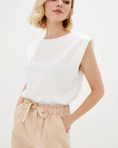 Белая блузка без рукавов Zubrytskaya