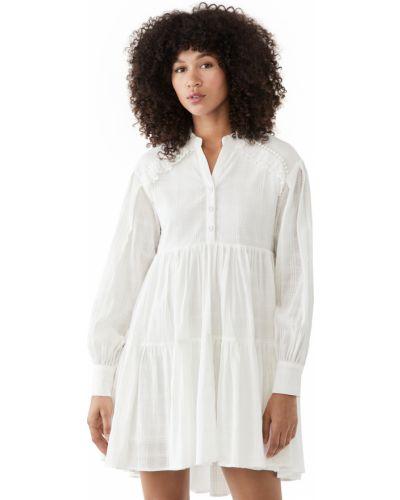 Кружевное длинное платье макси рубашка Minkpink