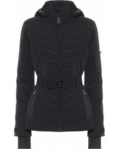 Пуховая черная куртка Bogner