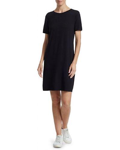 Платье-рубашка с короткими рукавами стрейч из вискозы Majestic