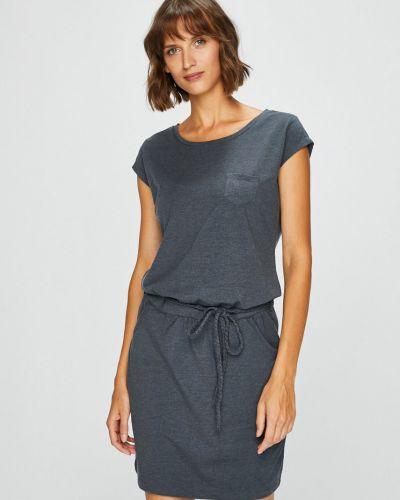 Темно-синее платье мини с карманами Fresh Made