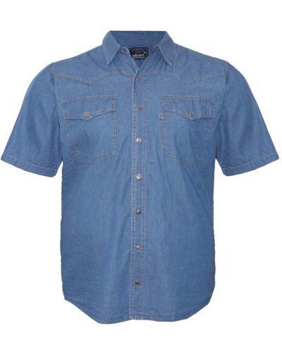 Джинсовая рубашка - синяя Dekons