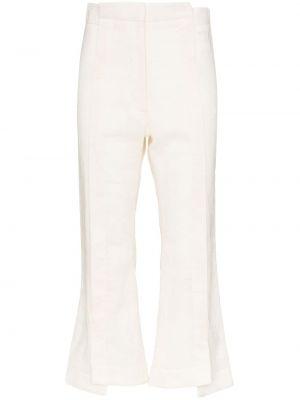 Укороченные брюки с поясом Delada