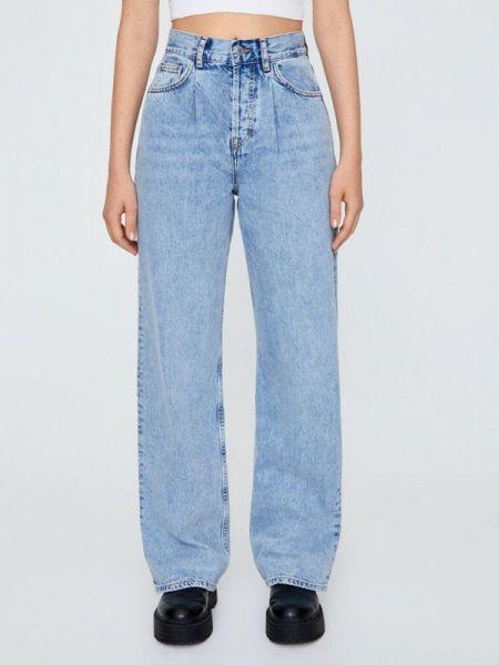Широкие джинсы расклешенные Pull&bear