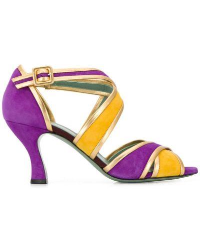 Босоножки на высоком каблуке на каблуке Paola D'arcano