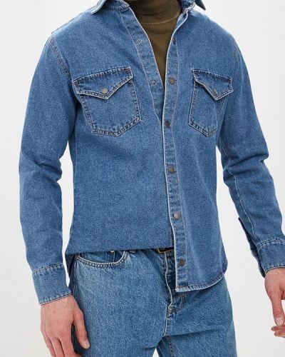 Джинсовая рубашка синий Dasti