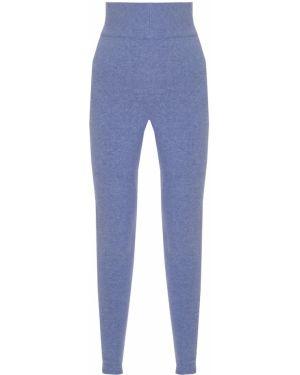 Кашемировые зауженные брюки с поясом свободного кроя Free Age