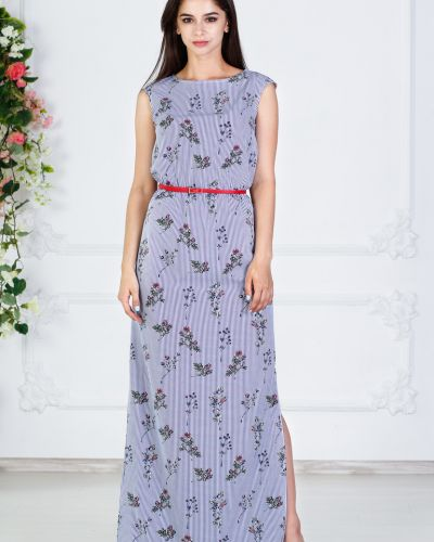 Платье макси на резинке платье-сарафан азалия