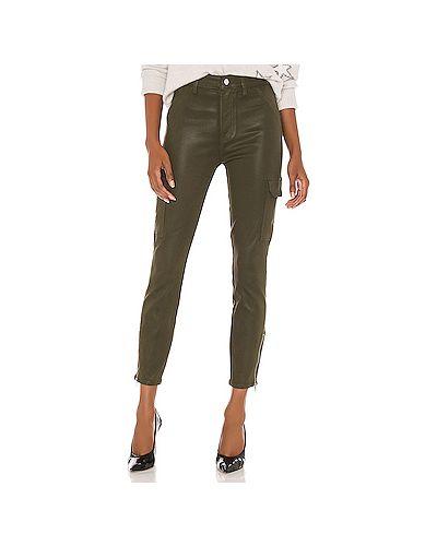 Зауженные джинсы-скинни с карманами на молнии 7 For All Mankind