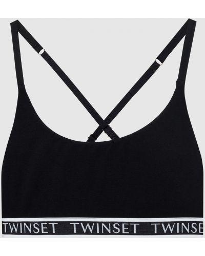 Топ - черный Twin-set