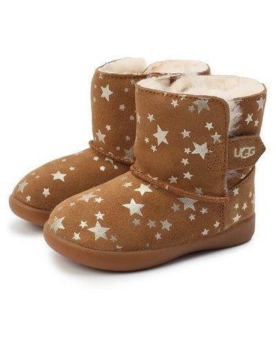 Со звездами коричневые сапоги с подкладкой Ugg