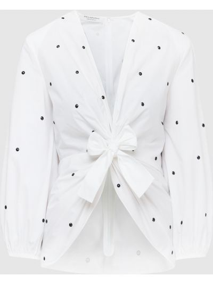 Белая блузка Philosophy Di Lorenzo Serafini