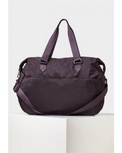 Фиолетовая спортивная сумка Oysho