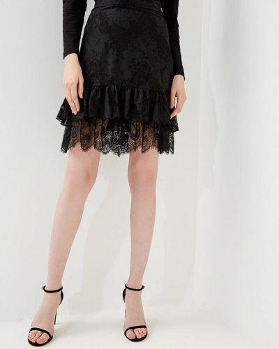 Черная юбка весенняя Just Cavalli