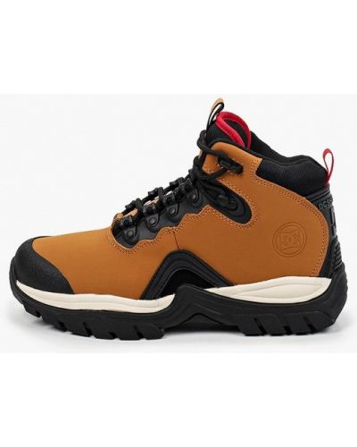 Кожаные сапоги - коричневые Dc Shoes