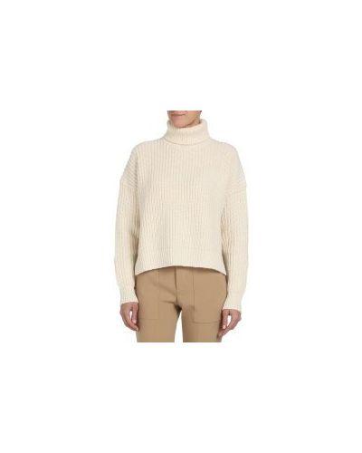 Джинсы бежевые mom Calvin Klein Jeans