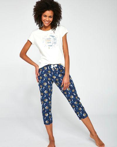 Хлопковая пижама - синяя Cornette