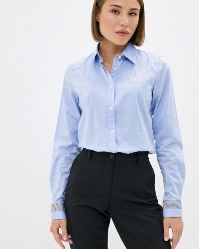 Рубашка с длинным рукавом - голубая Galvanni