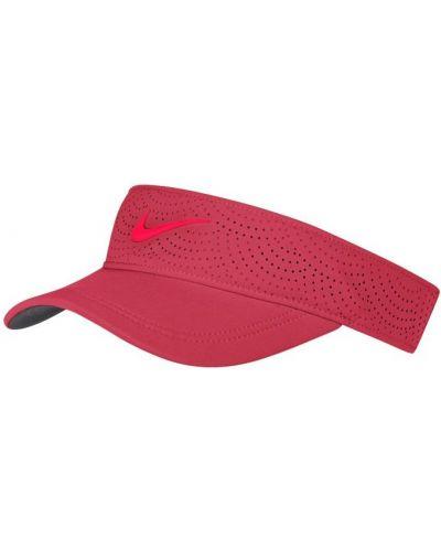 Czerwona daszek Nike