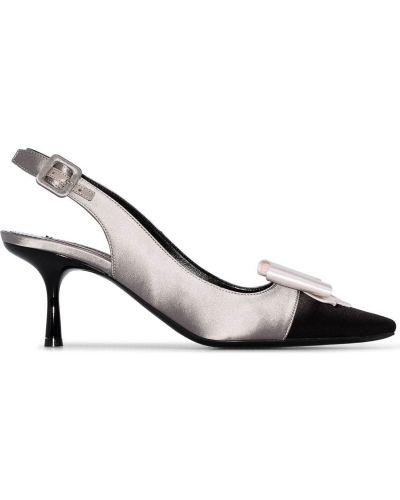 Черные туфли-лодочки Fabrizio Viti