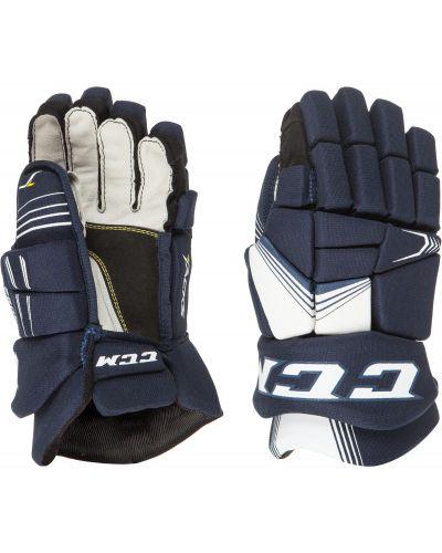 Синие перчатки нейлоновые Ccm