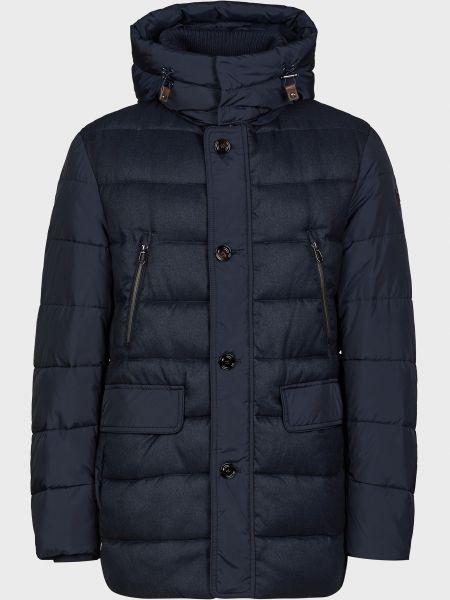 Куртка на пуговицах - синяя Joop!
