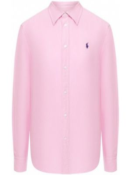 Рубашка с длинным рукавом льняная Polo Ralph Lauren