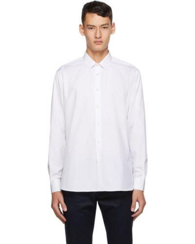 Klasyczny biały klasyczna koszula z kołnierzem z mankietami Saint Laurent